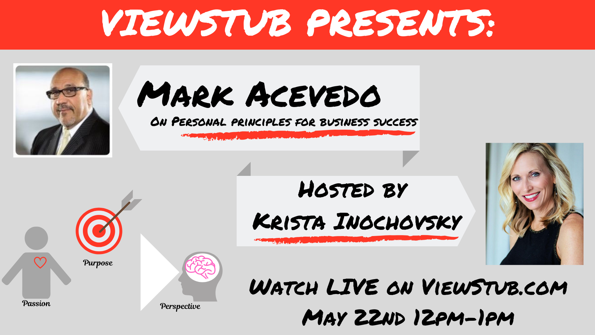 Photo for ViewStub Presents Mark Acevedo on Personal Principles for Business Success on ViewStub
