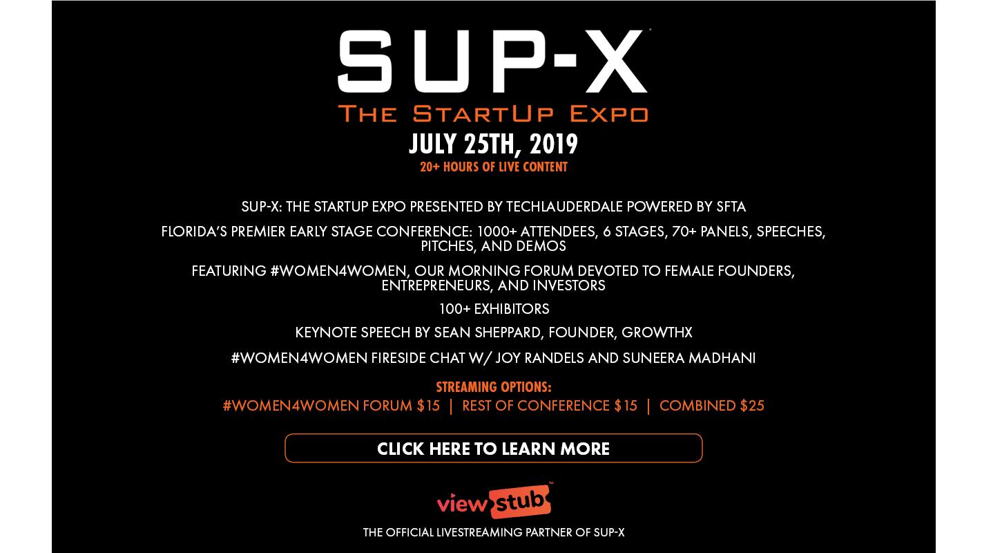 Thumbnail forSUP X 2019 on ViewStub