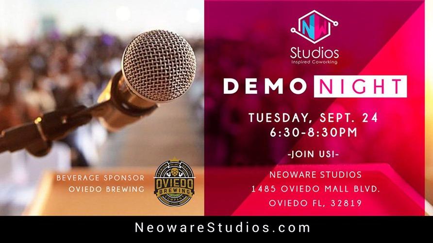 Photo for Neoware Studios Demo Night on ViewStub