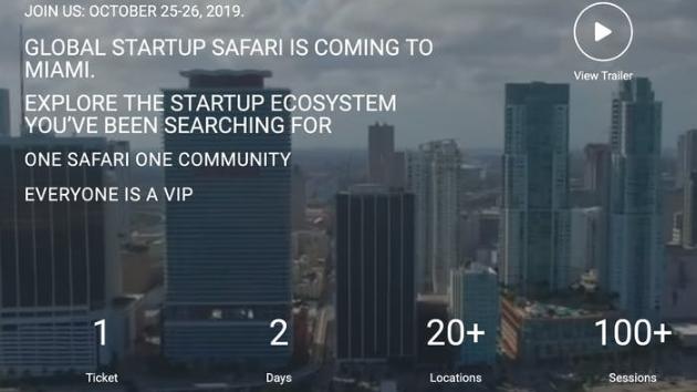 Photo for Startup SAFARI Miami DAY3 on ViewStub