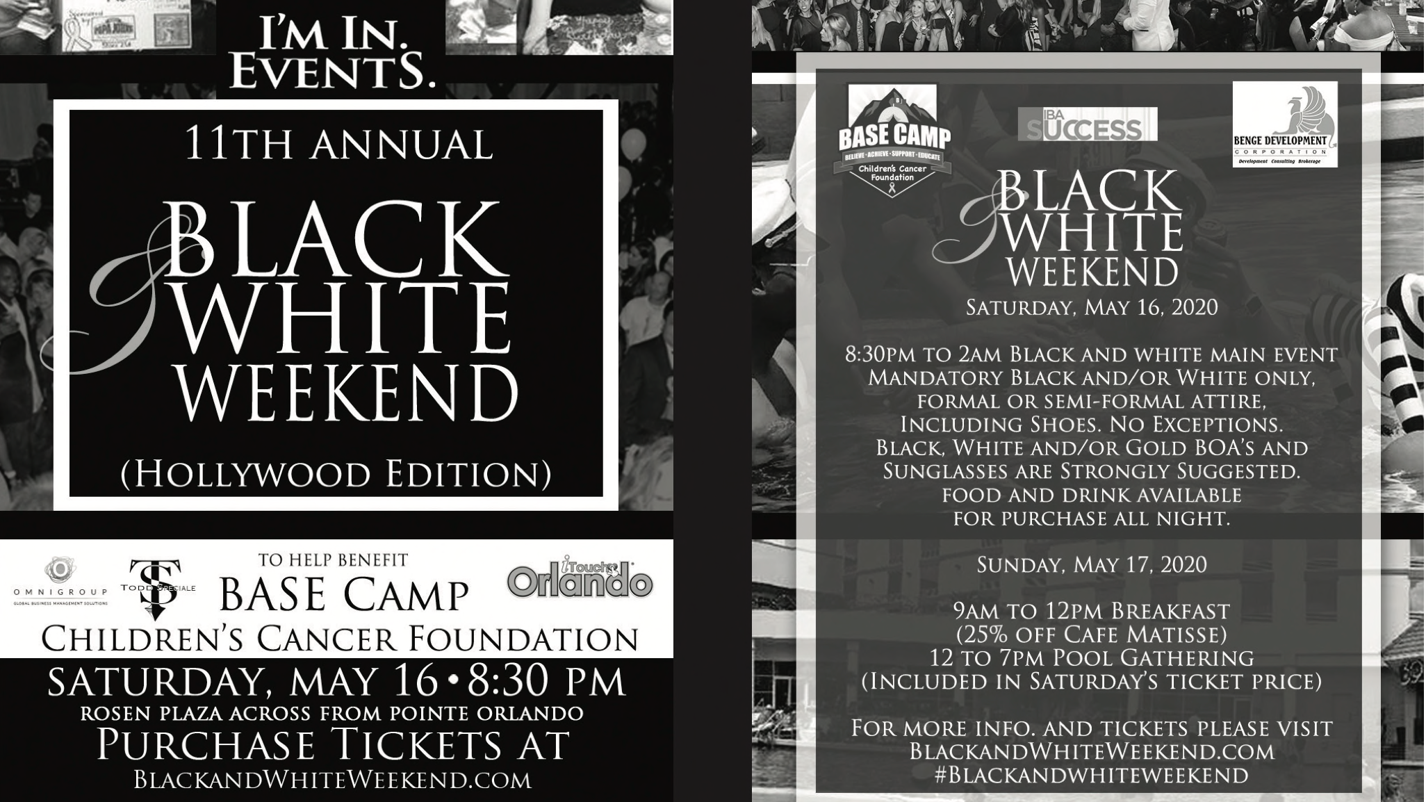 Photo for 11th Annual Black and White Weekend Hollywood Edition on ViewStub