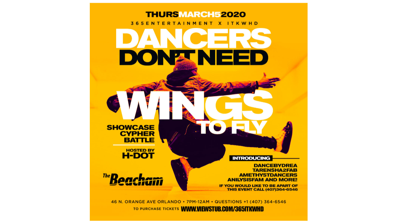 Thumbnail for365entertainment x ITKWHD Dancers dont need wings to fly on ViewStub