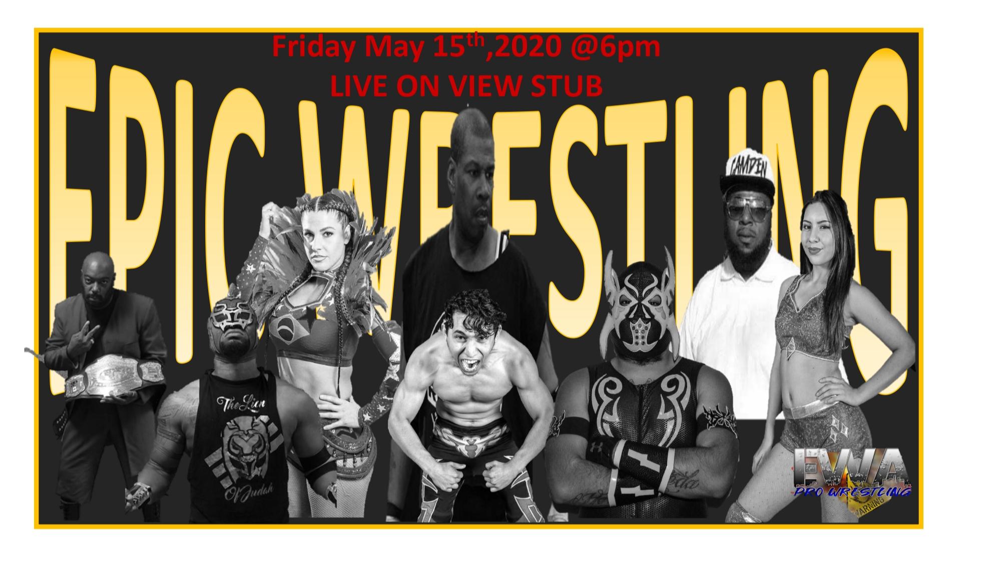 Thumbnail forEpic Wrestling Association BREAKDOWN on ViewStub