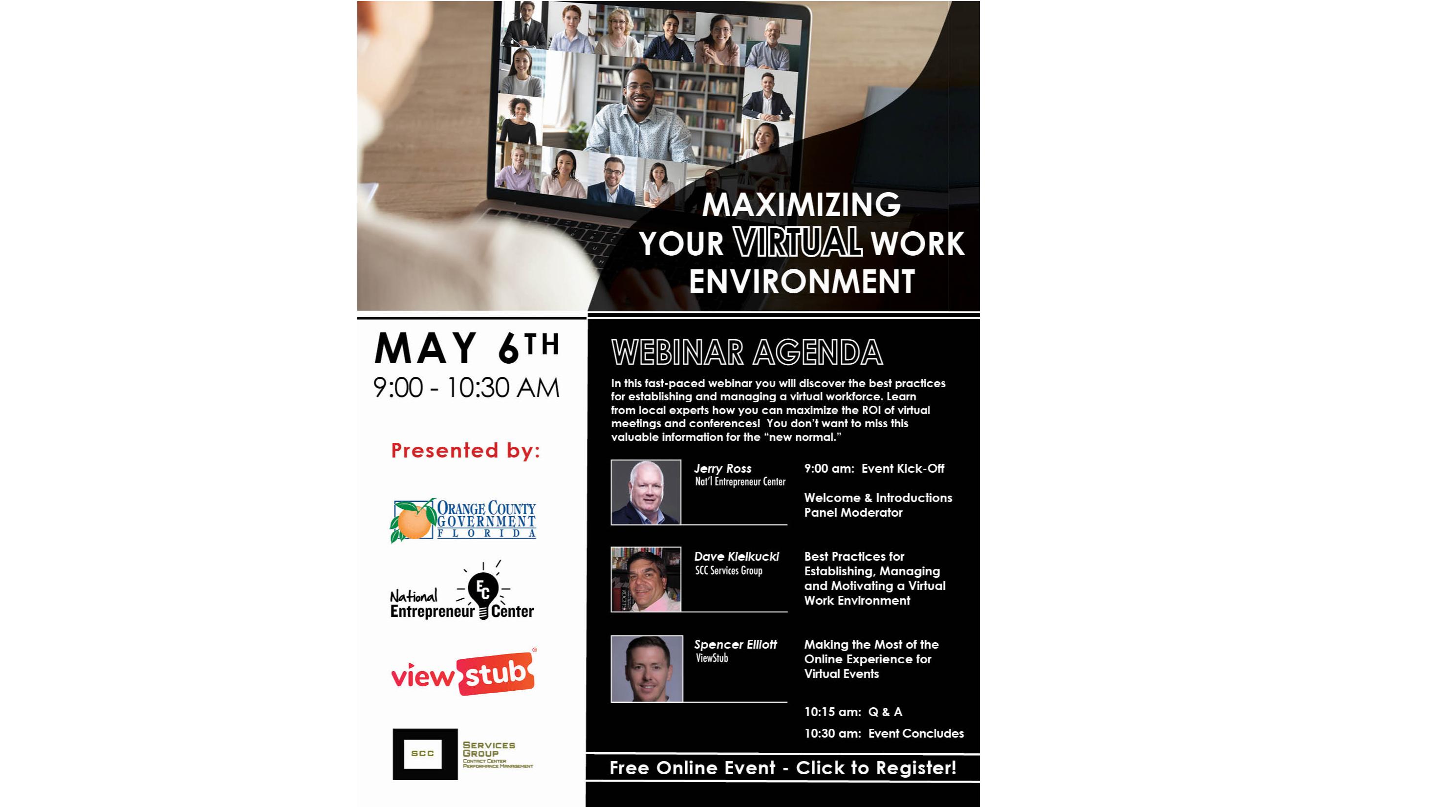 Photo forMaximizing Your Virtual Work Environment on ViewStub