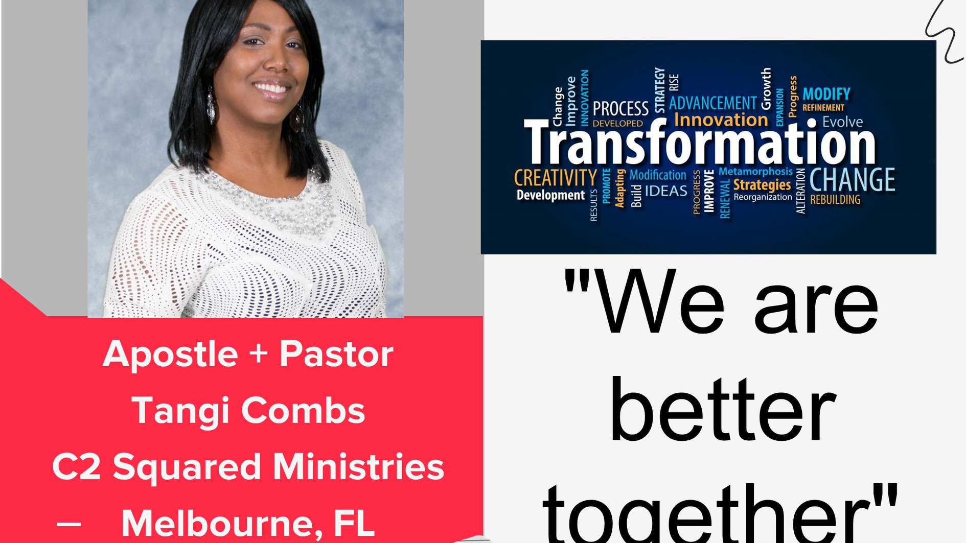 Thumbnail forFaith and Community Fireside Chat Apostle Pastor Tangi Combs on ViewStub