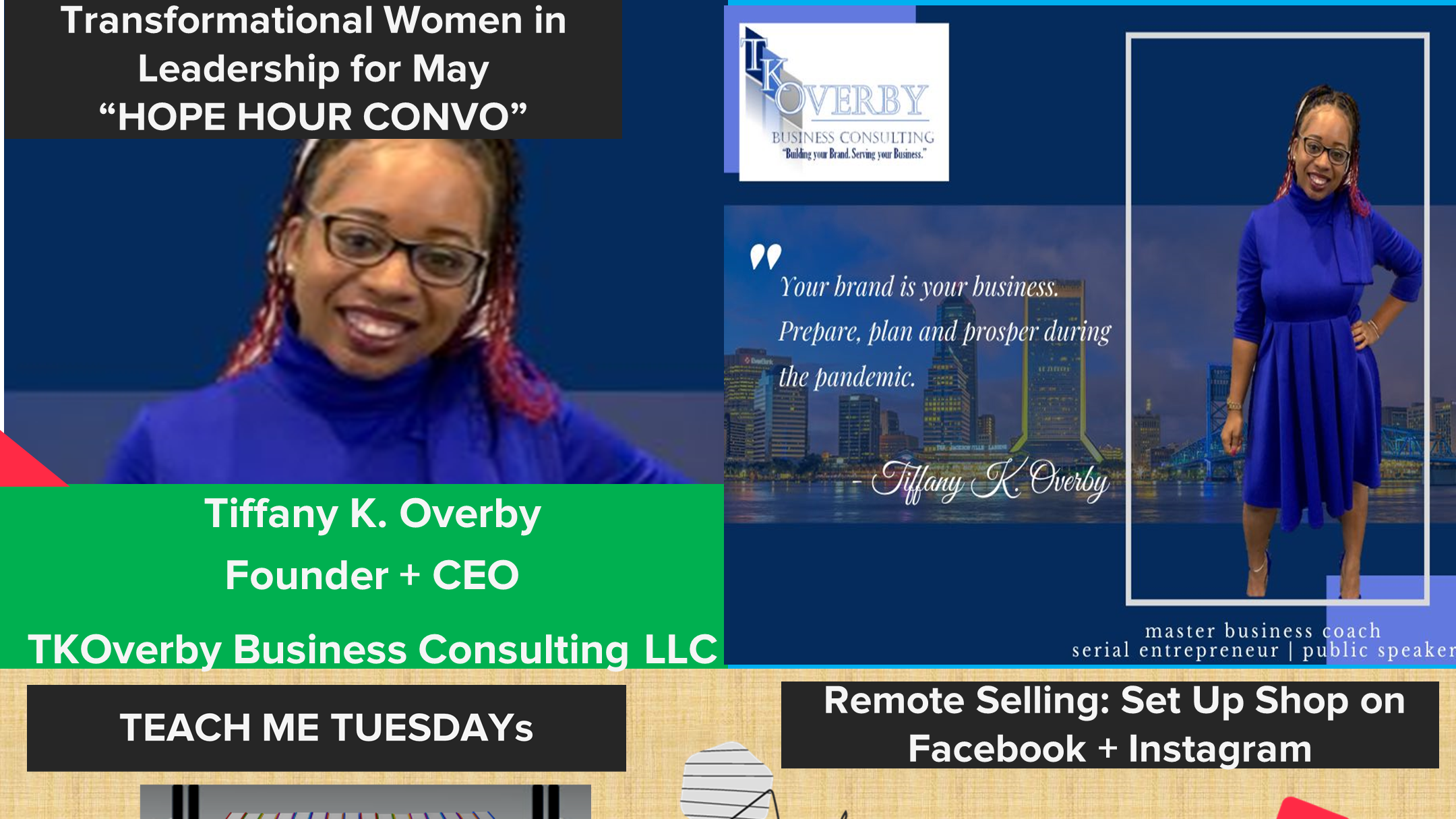 Photo forThe Business Talking Library Teach Me Tuesdays with Tiffany K Overby on ViewStub