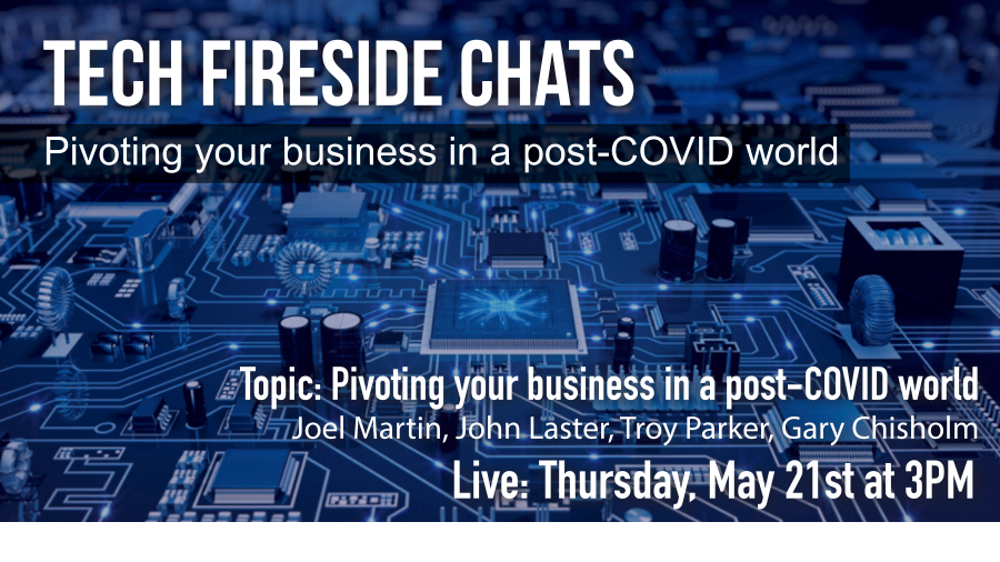 Thumbnail forTECH Fireside Chats Pivoting Your Business In A Post Covid World on ViewStub