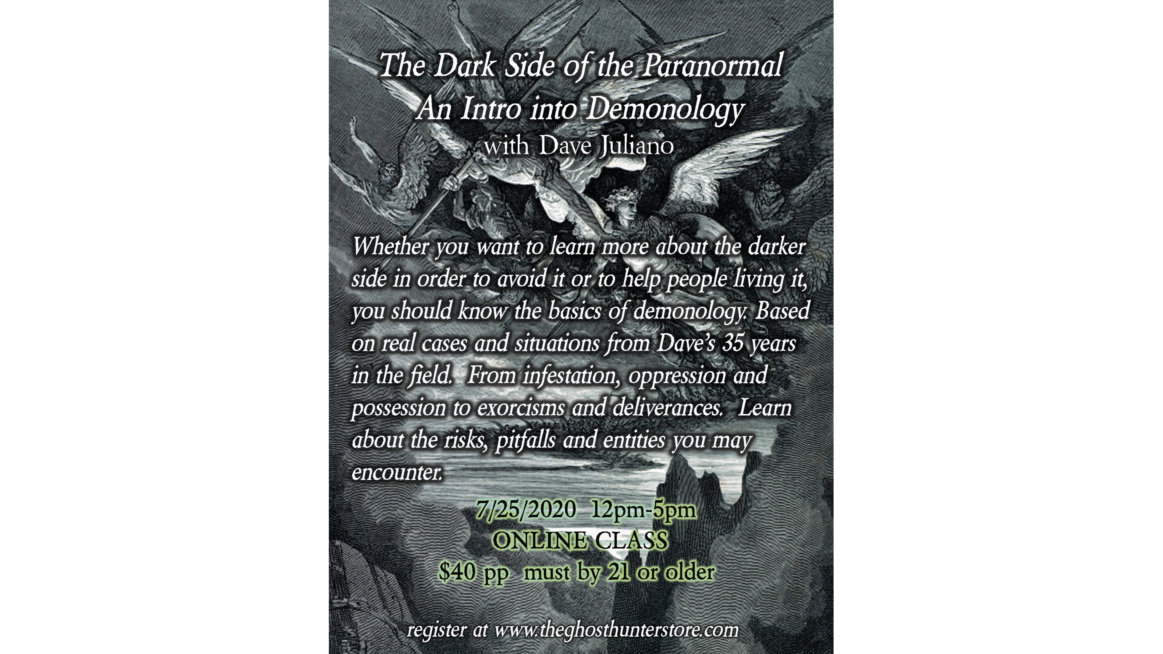 Photo for Intro into Demonology - The Dark Side of the Paranormal on ViewStub
