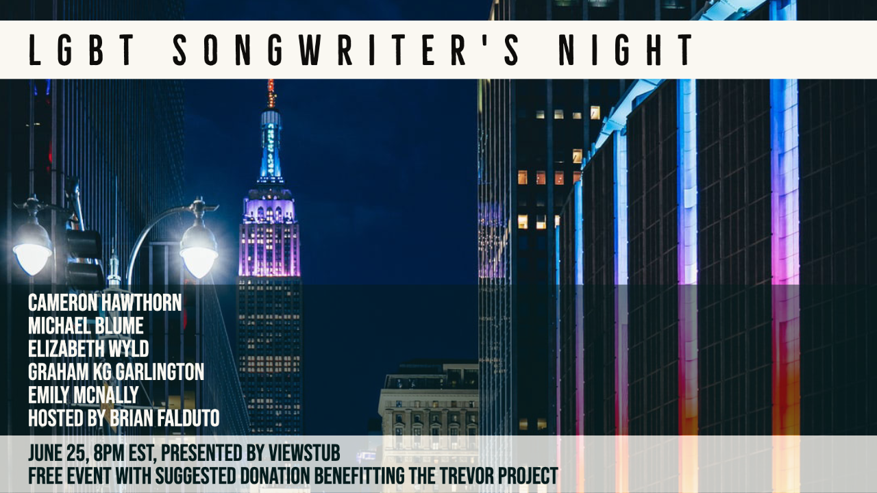 Thumbnail for The 3rd Annual LGBT Songwriter's Night on ViewStub