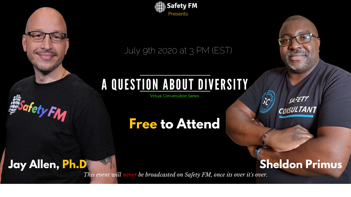 Thumbnail for Safety FM presents A Question About Diversity on ViewStub