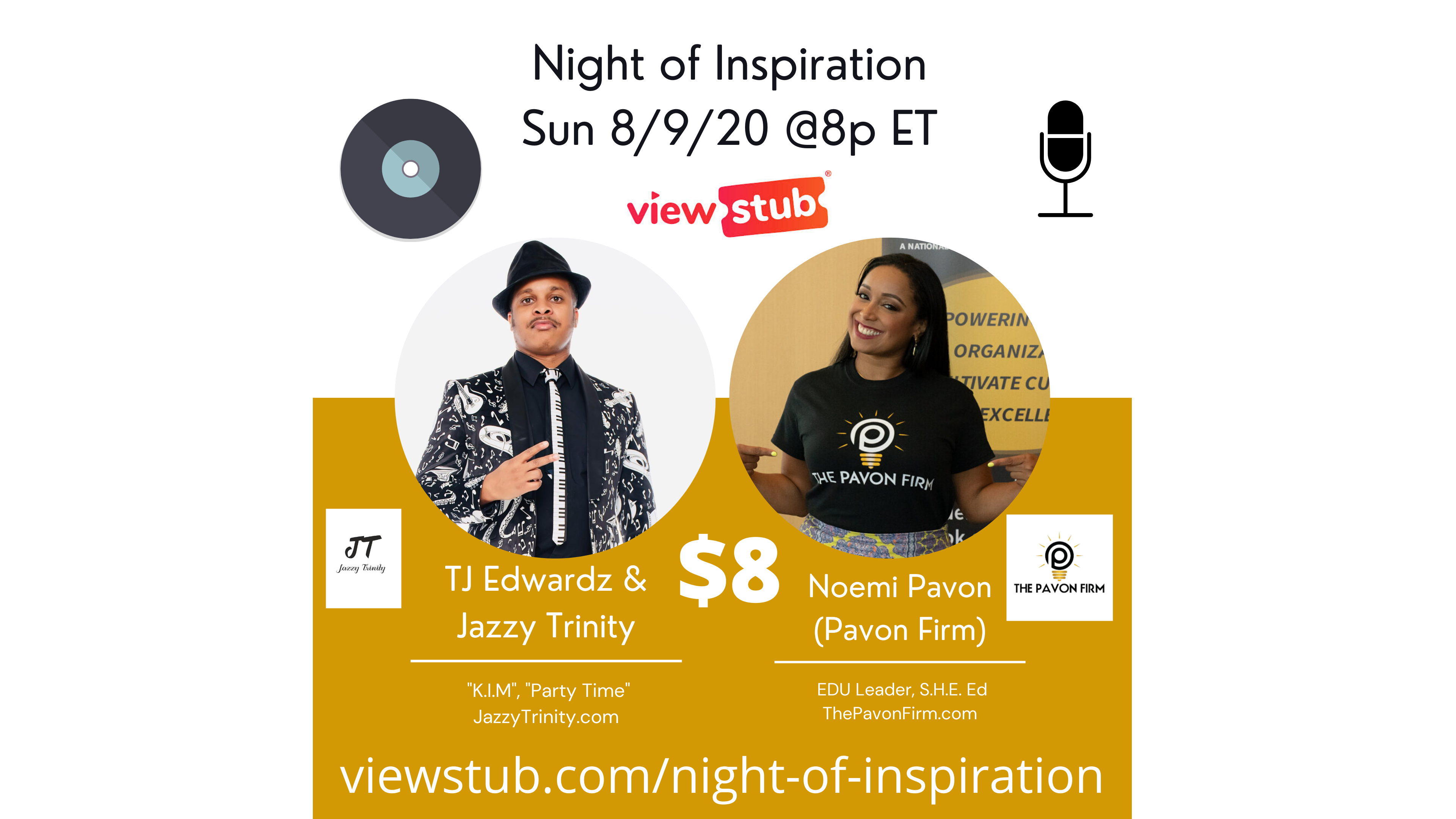 Thumbnail for Night of Inspiration on ViewStub