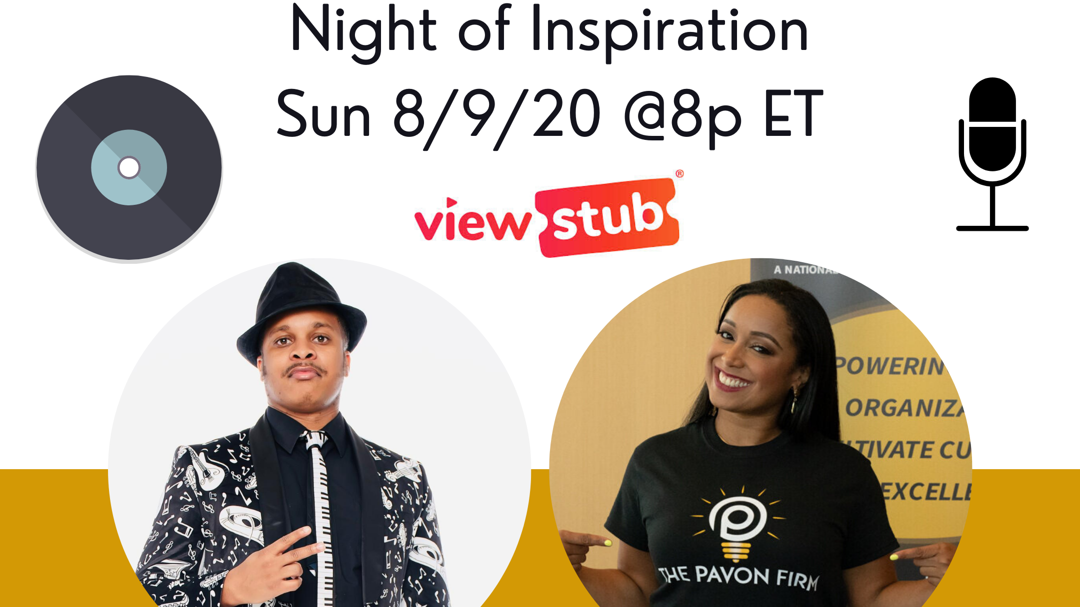 Photo for Night of Inspiration on ViewStub