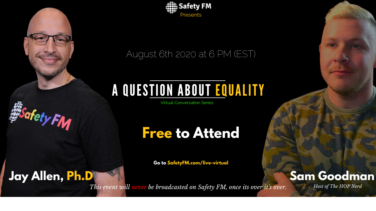 Thumbnail for Safety FM presents A Question About Equality on ViewStub