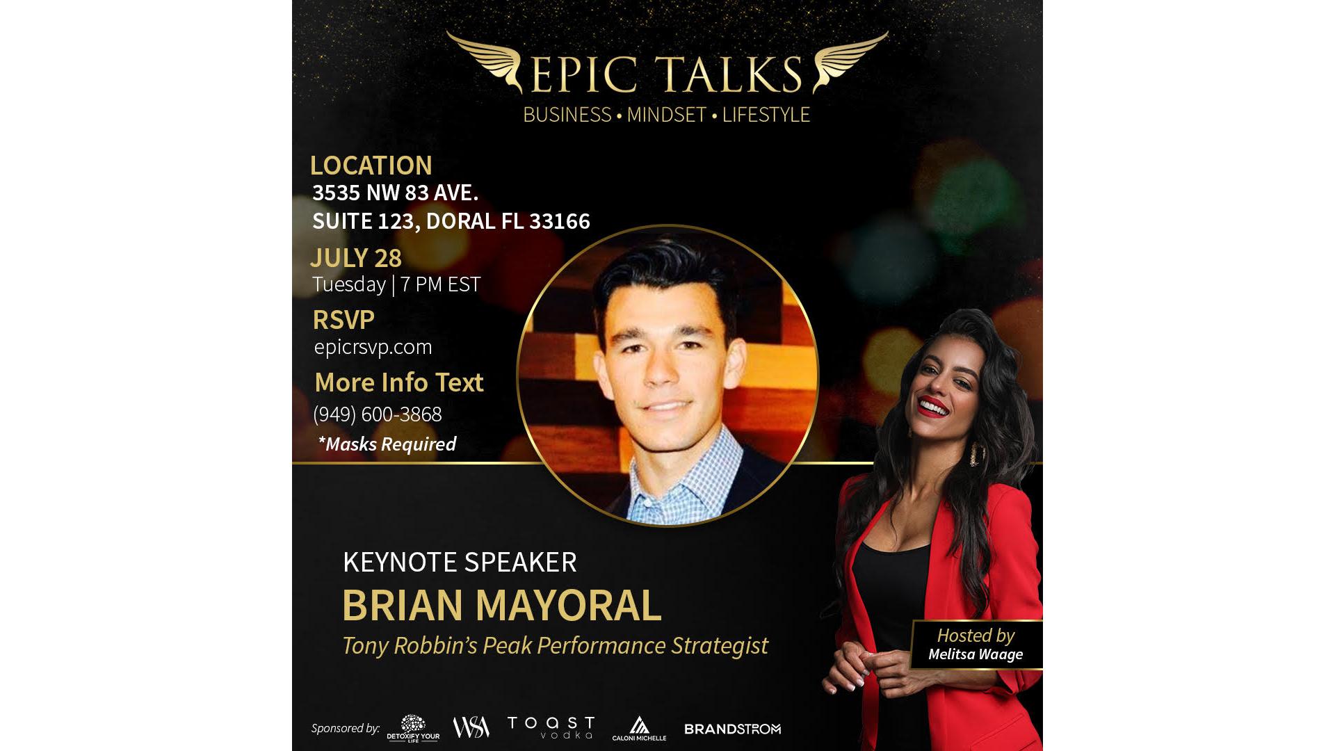 Thumbnail for Epic Talks - July on ViewStub