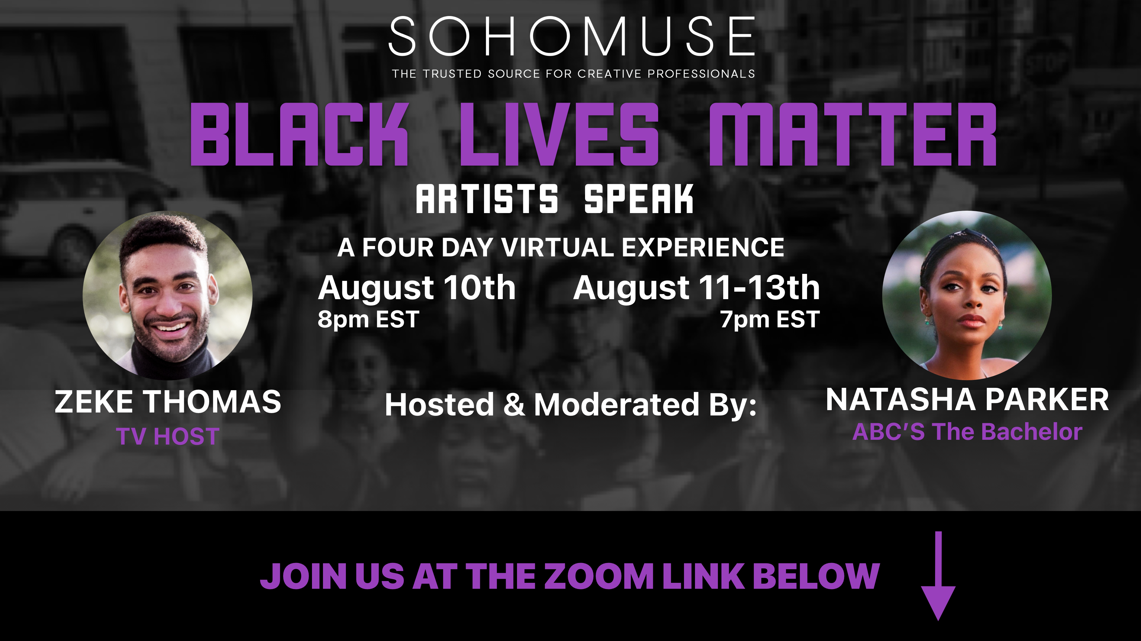 Photo for SohoMuse Presents: Black Lives Matter - Artists Speak on ViewStub
