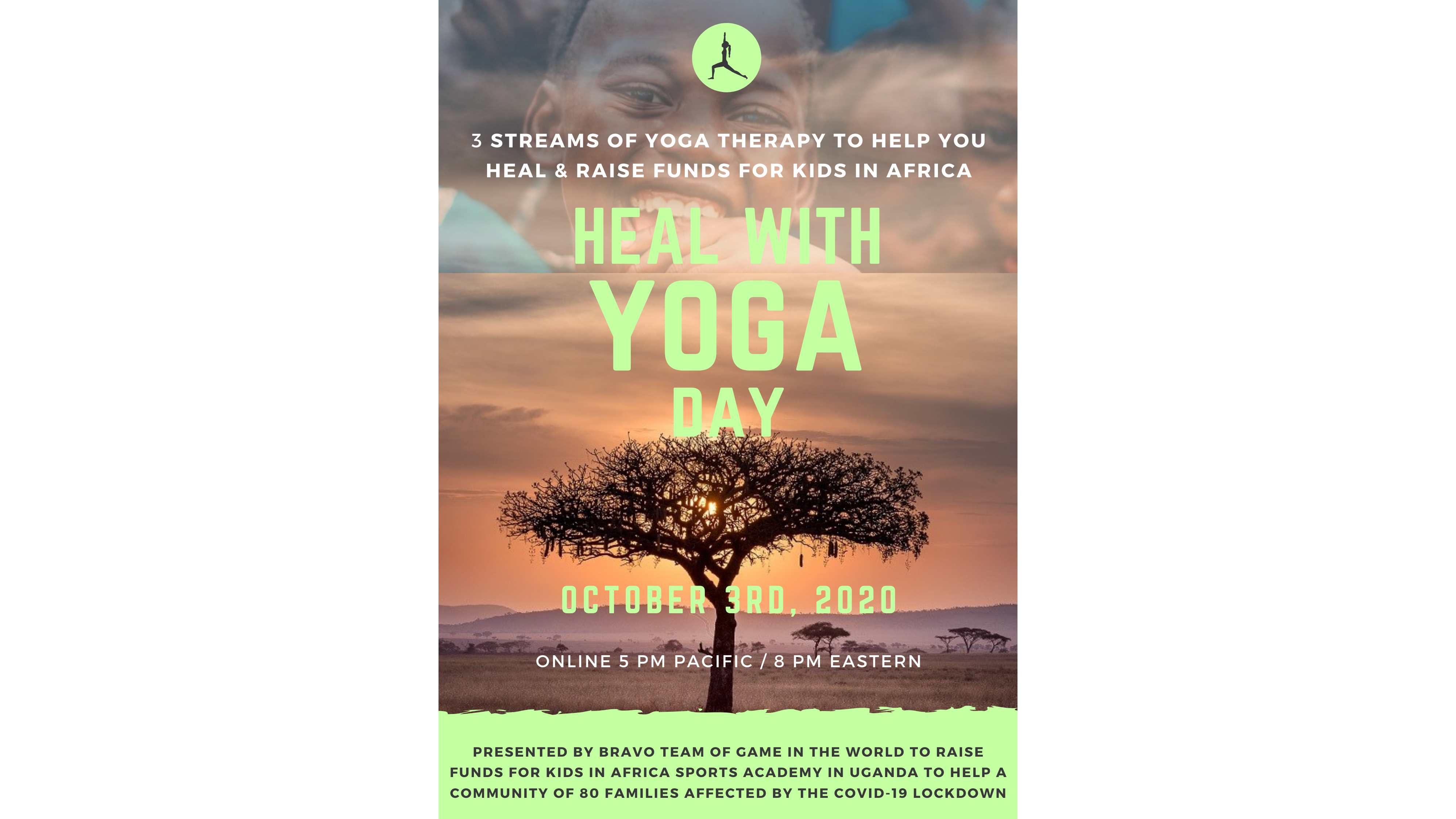 Photo for Heal With Yoga Day - Help Out Uganda on ViewStub