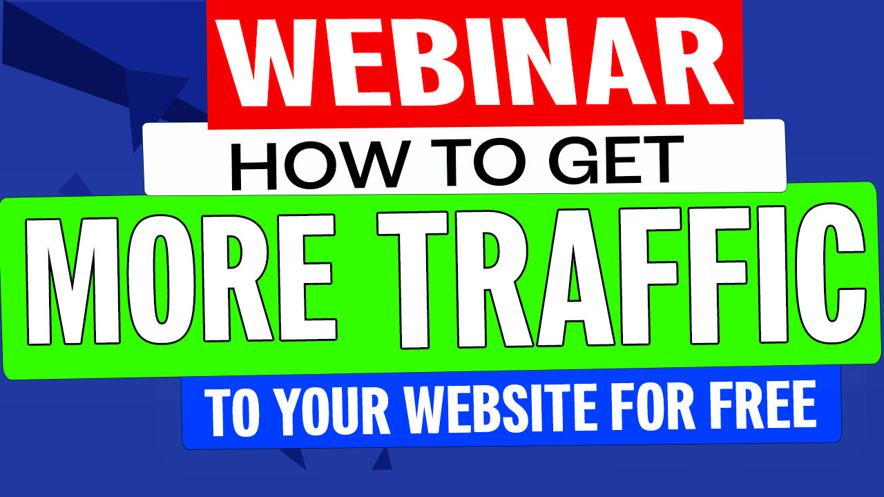 Photo for How To Get More Traffic To Your Website For Free - Webinar on ViewStub
