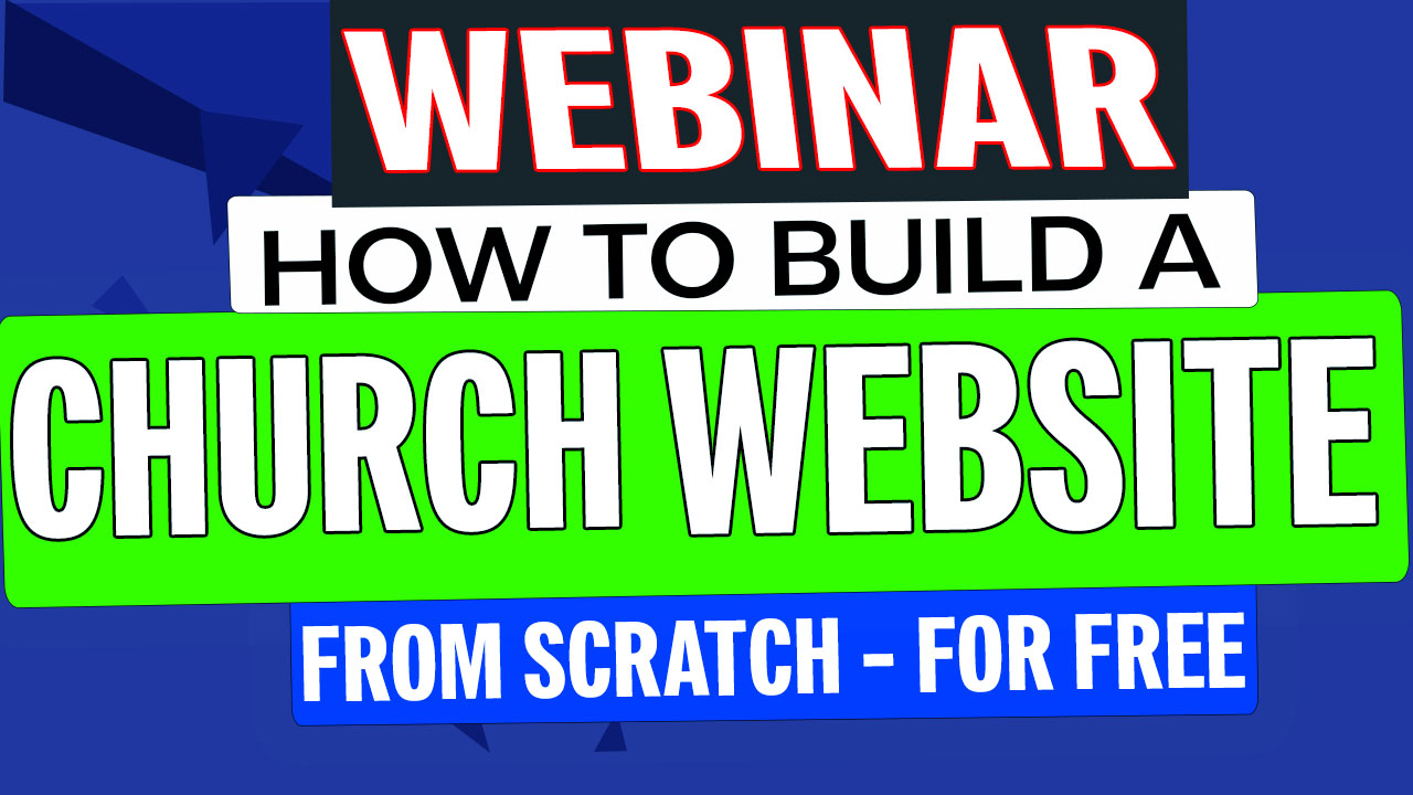 Photo for How To Build A Website For Your Church From Scratch - [LIVE WEBINAR] on ViewStub