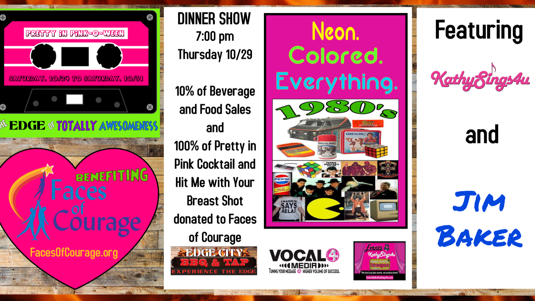 Photo for Pretty in Pink-O-Ween: Totally Eighties Dinner on Thursday on ViewStub