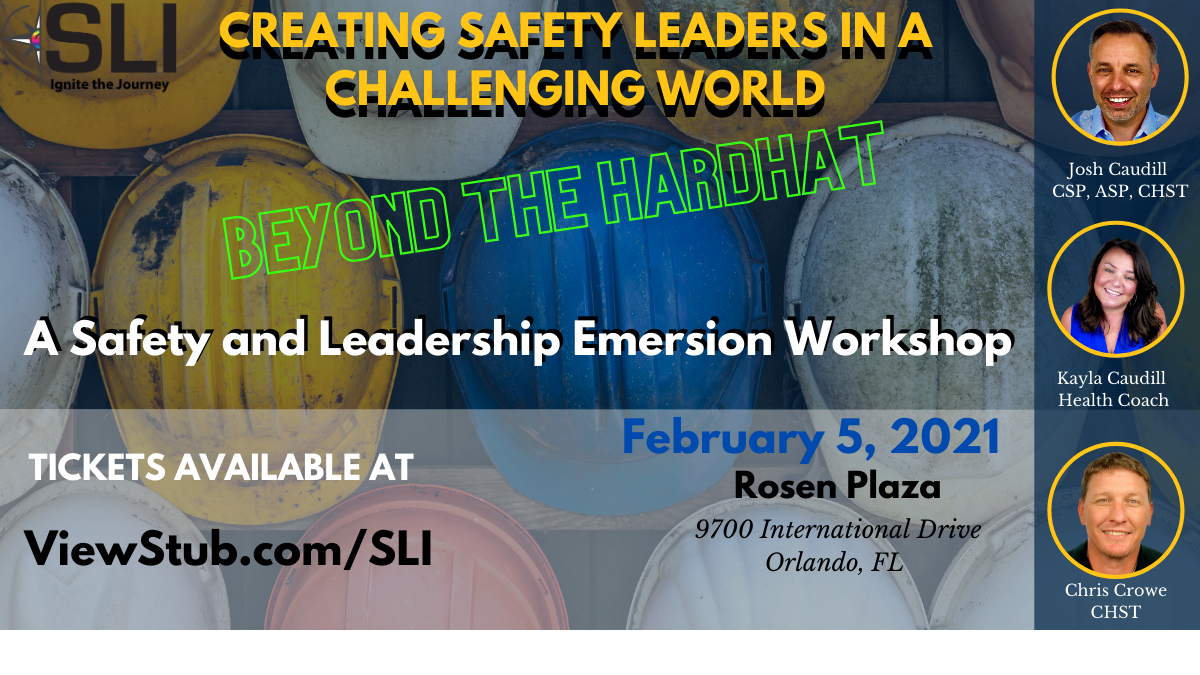 Photo for CREATING SAFETY LEADERS IN A CHALLENGING WORLD  Beyond the Hardhat on ViewStub