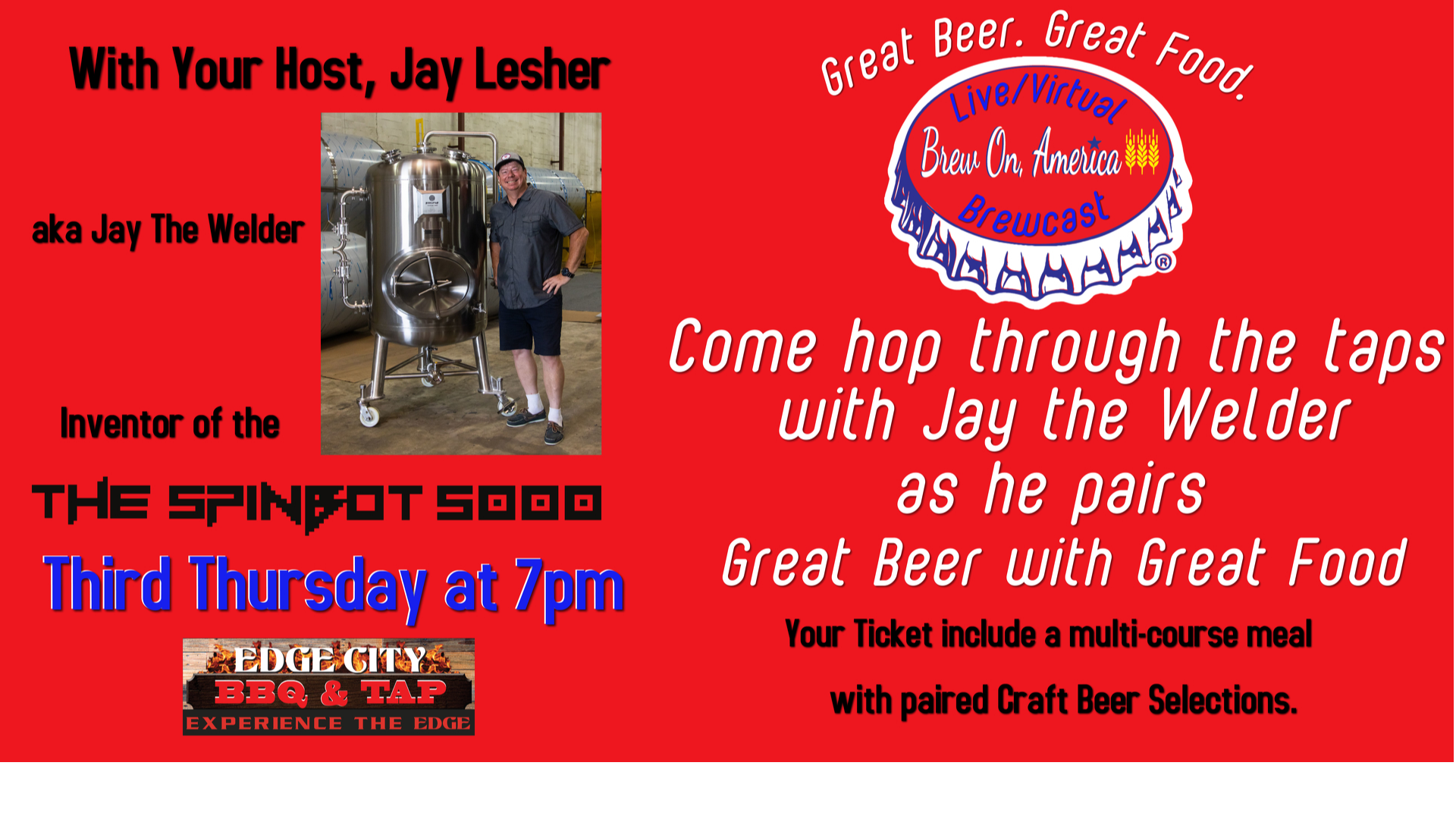 Photo for Great Beer and Great Food Dinner Show on ViewStub