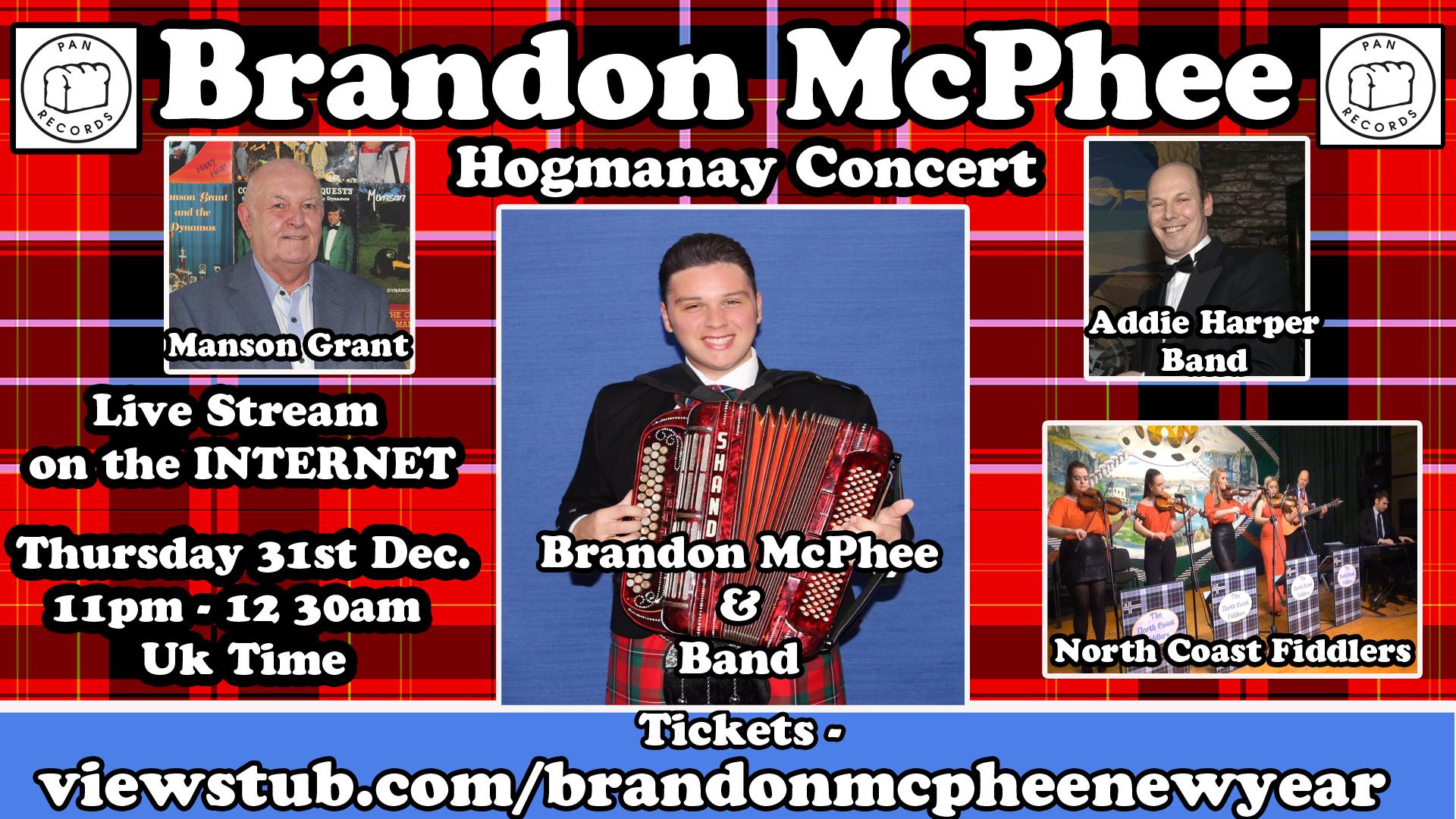 Photo for Brandon Mcphee Scottish Hogmanay Concert on ViewStub