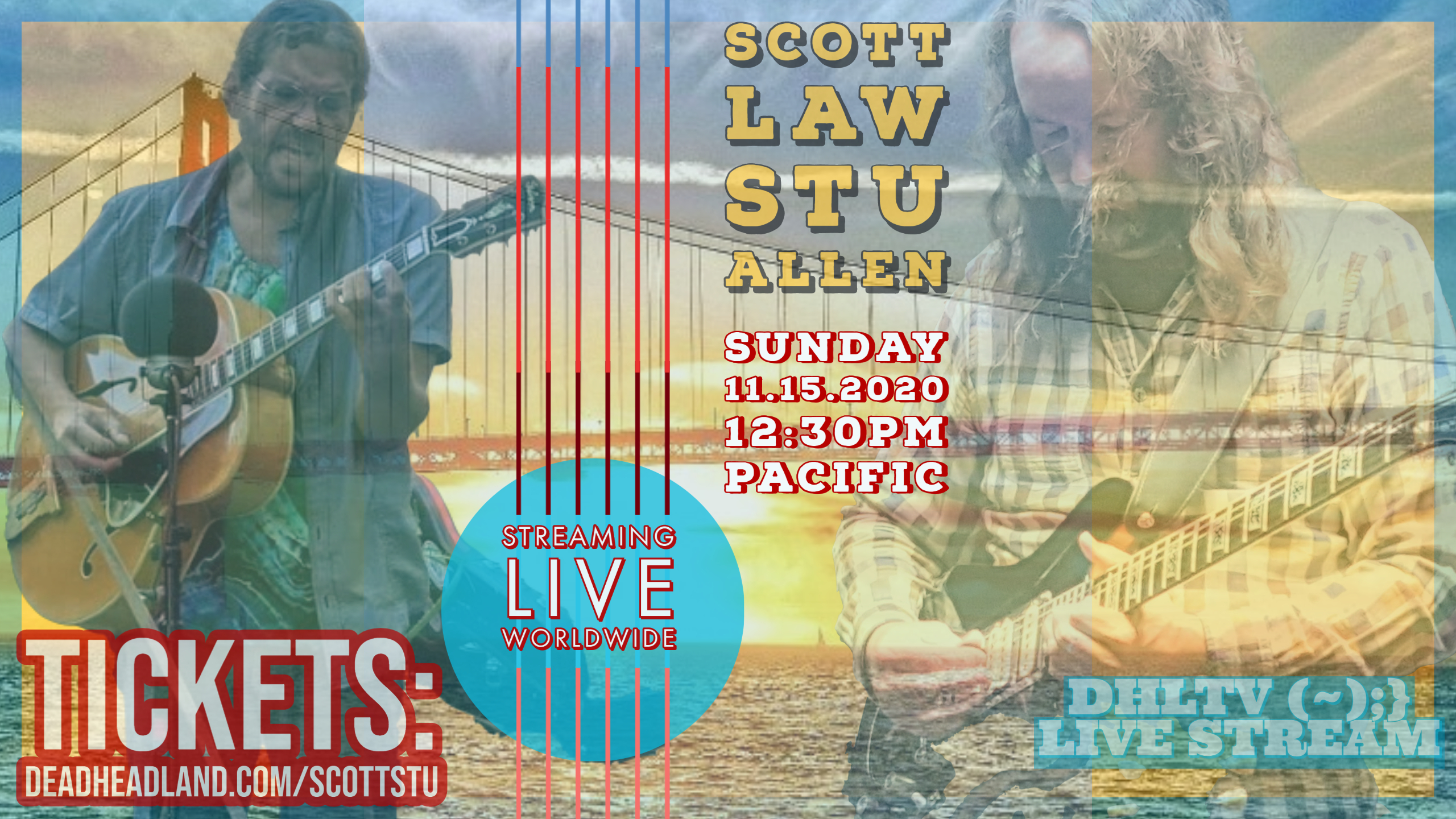 Photo for Scott Law & Stu Allen | Sunday November 15, 2020 on ViewStub