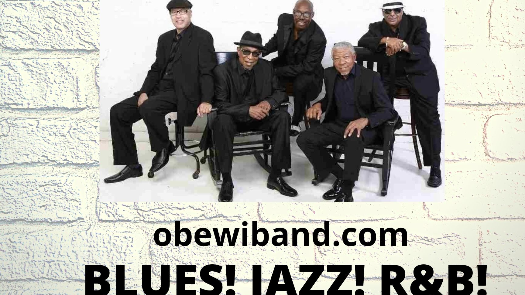 Photo for Night of Jazz! Oldies! Blues! & More!  OBEWI BAND! Social Distance! Dine & Enjoy! Vista Vibes Tucker on ViewStub