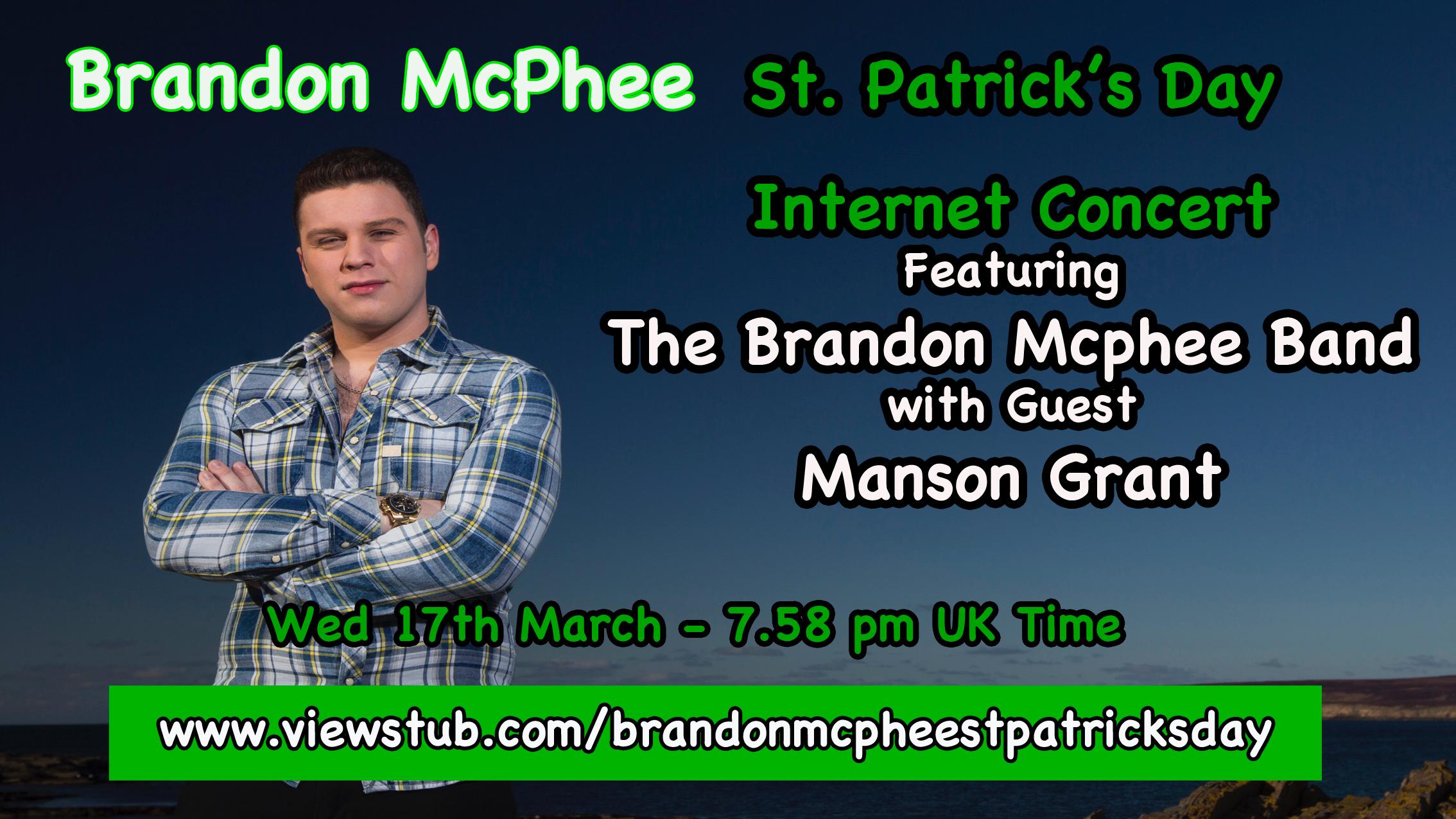 Photo for Brandon Mcphee St Patrick's Day Concert on ViewStub
