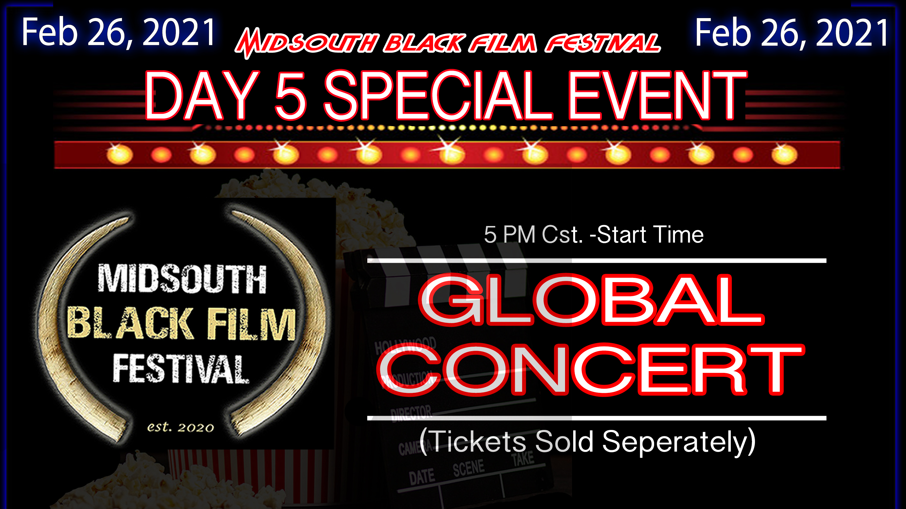 Photo for SPECIAL EVENT: (DAY5) GLOBAL CONCERT on ViewStub
