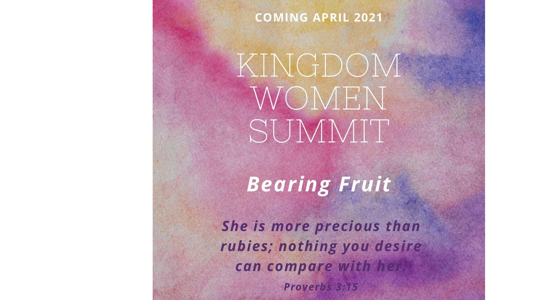 Photo for Kingdom Women Summit: Bearing Fruit on ViewStub