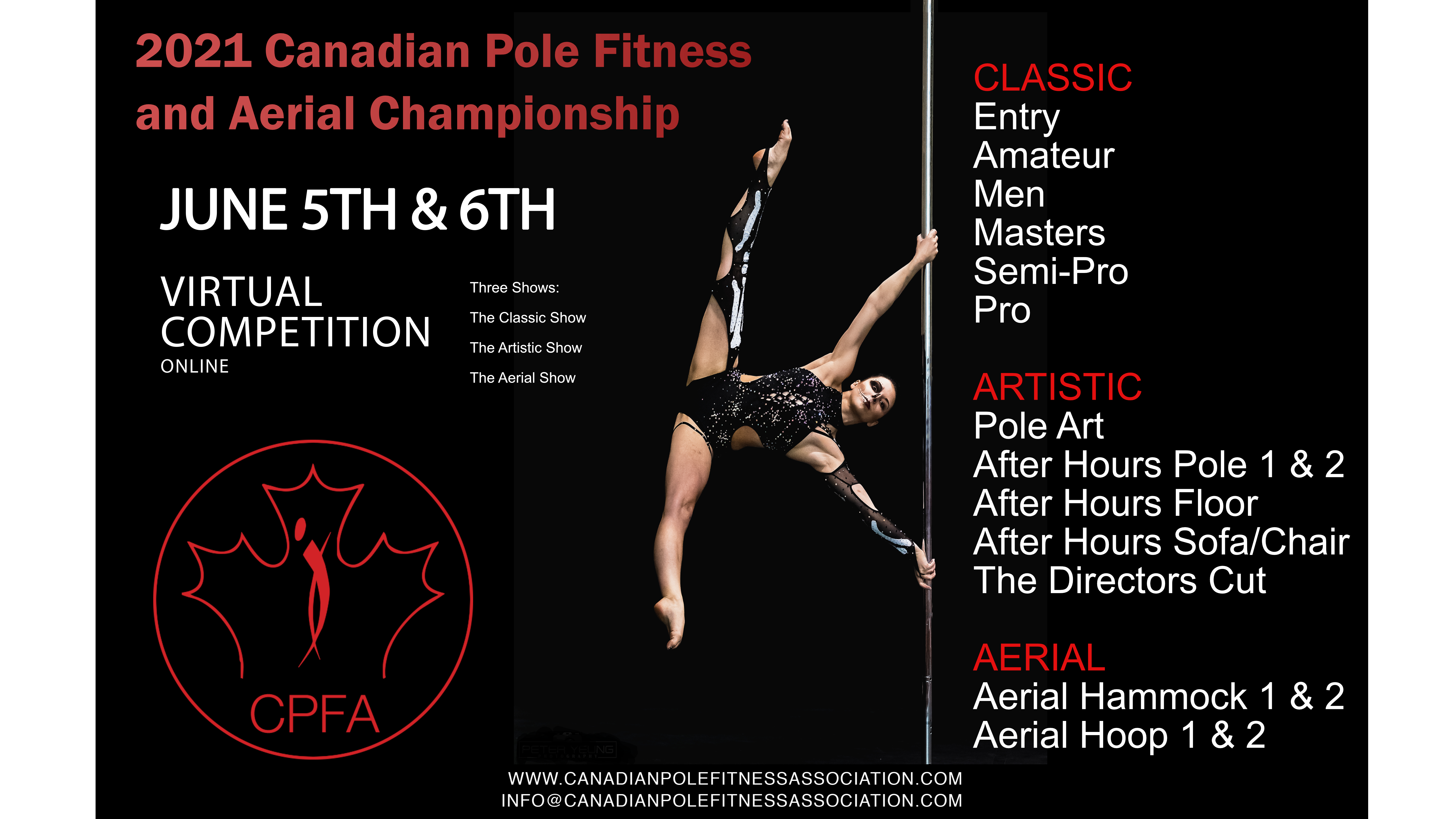 Photo for The 2021 Canadian Pole And Aerial Championship - CPFC on ViewStub
