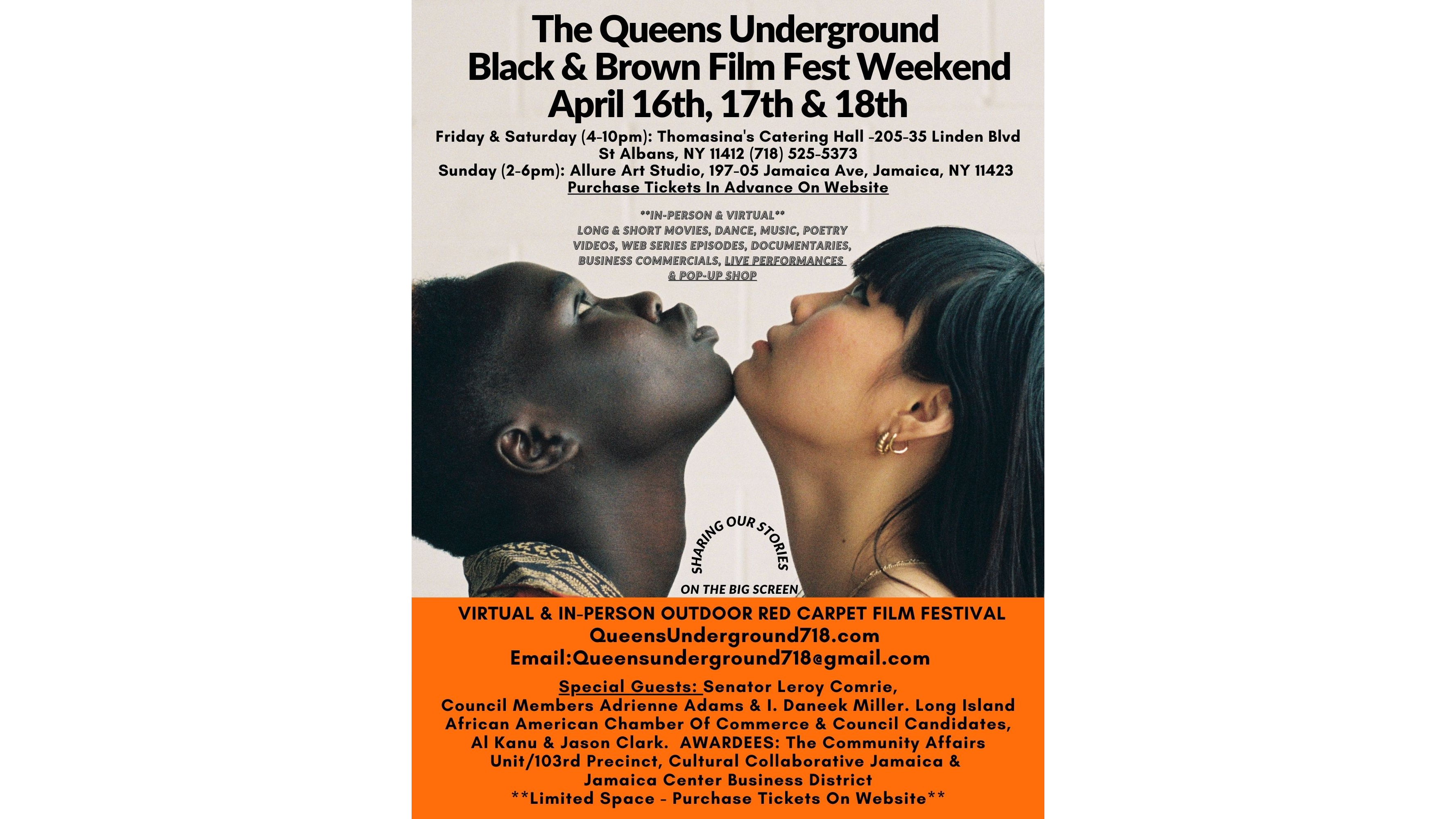 Photo for Queens Underground Black and Brown Film Festival on ViewStub