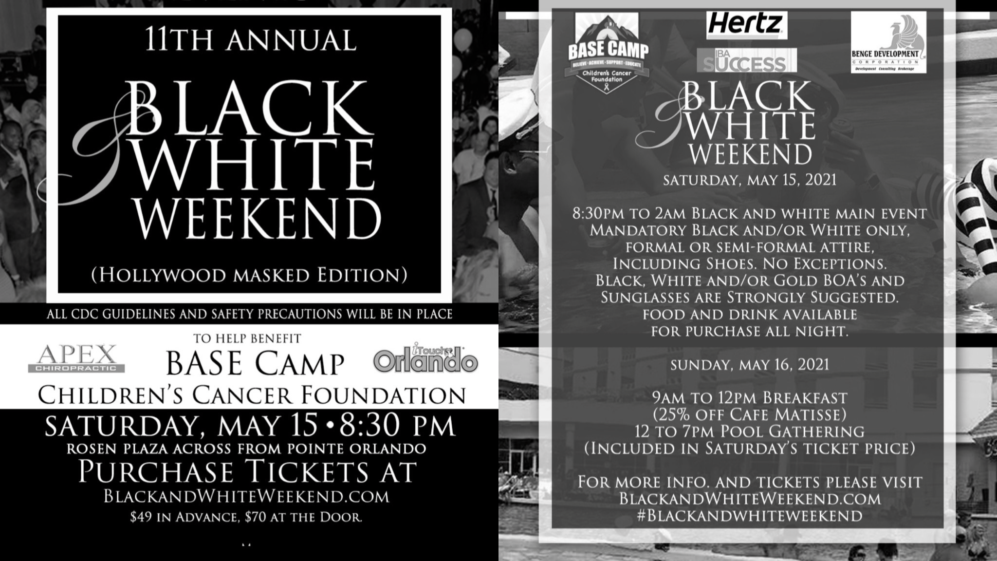 Photo for 11th Annual Black and White Weekend (Hollywood Masked Edition) on ViewStub