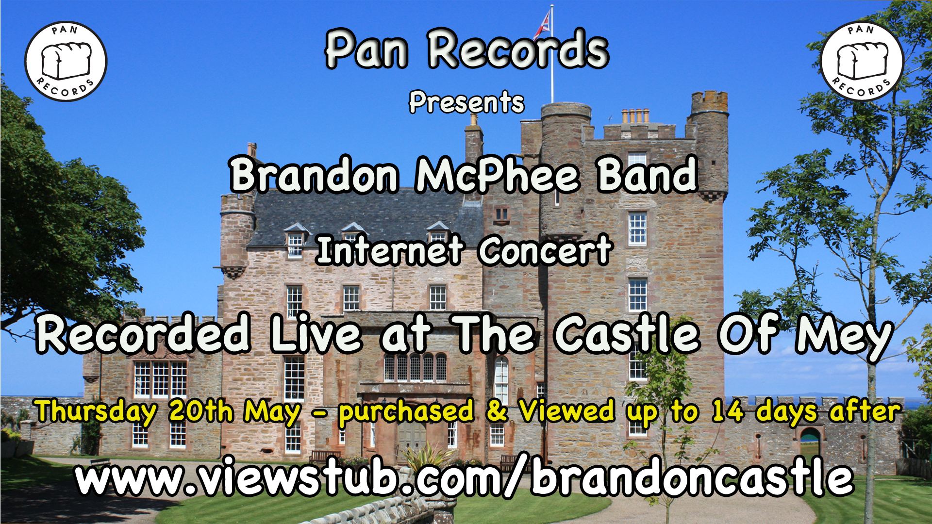 Photo for Brandon Mcphee Band at the Royal Castle of Mey, Caithness on ViewStub