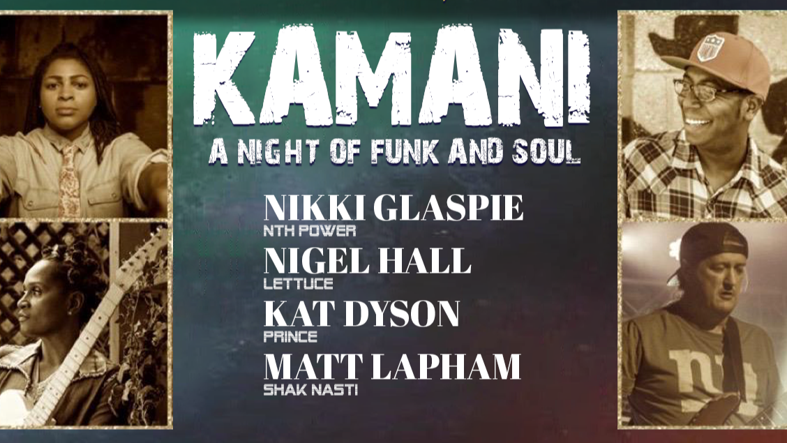 Photo for KAMANI: A Night of Funk and Soul LIVESTREAM from Orlando on ViewStub