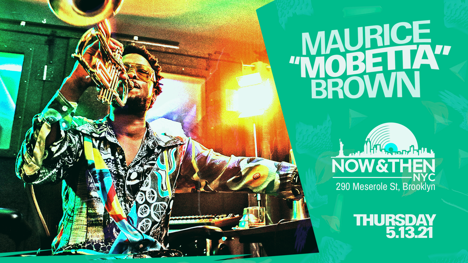 Photo for Maurice Brown Live at Now & Then NYC on ViewStub