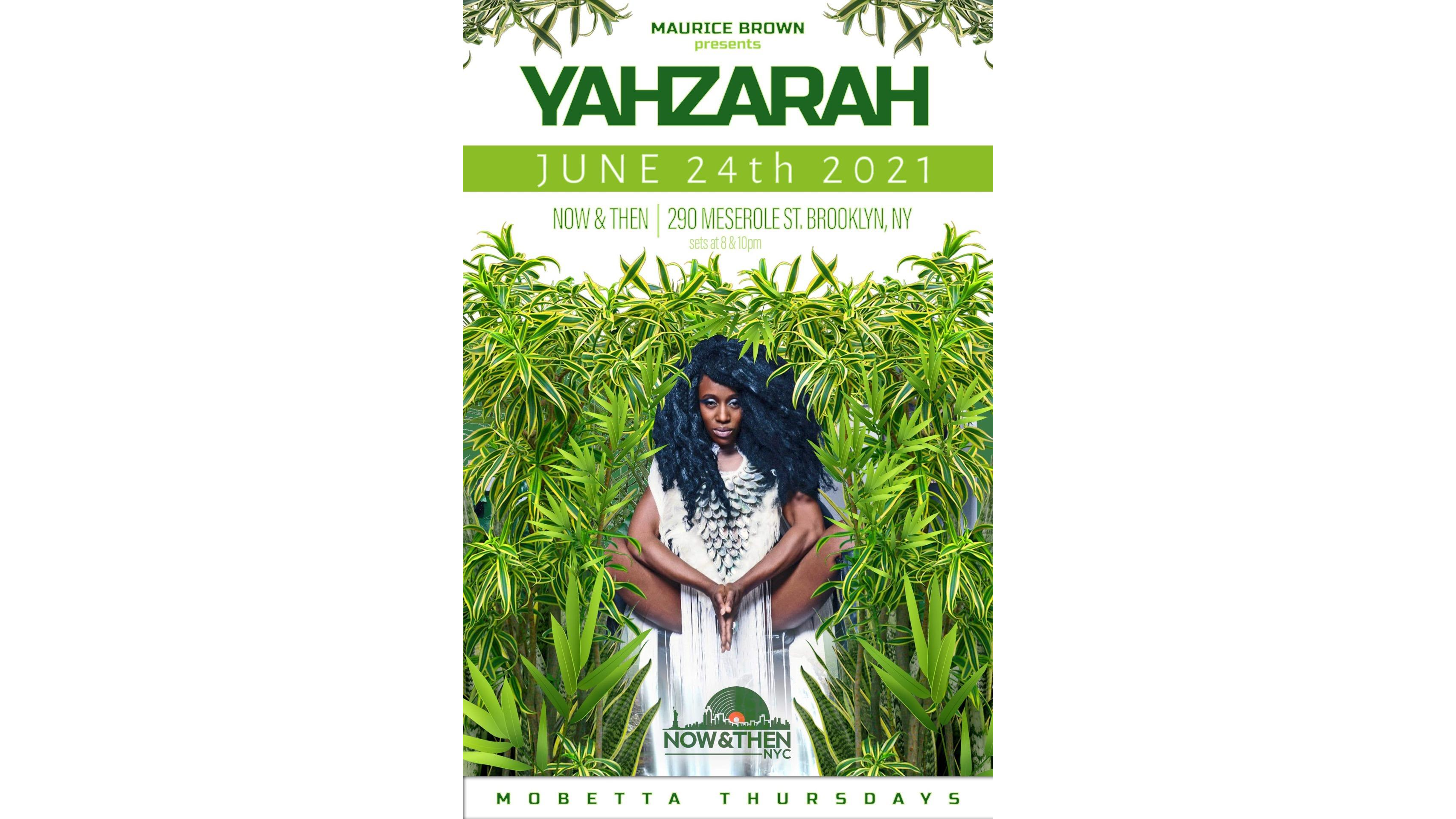 Photo for Mobetta Thursdays Curated By Maurice Brown Presents: YahZara June 24th on ViewStub