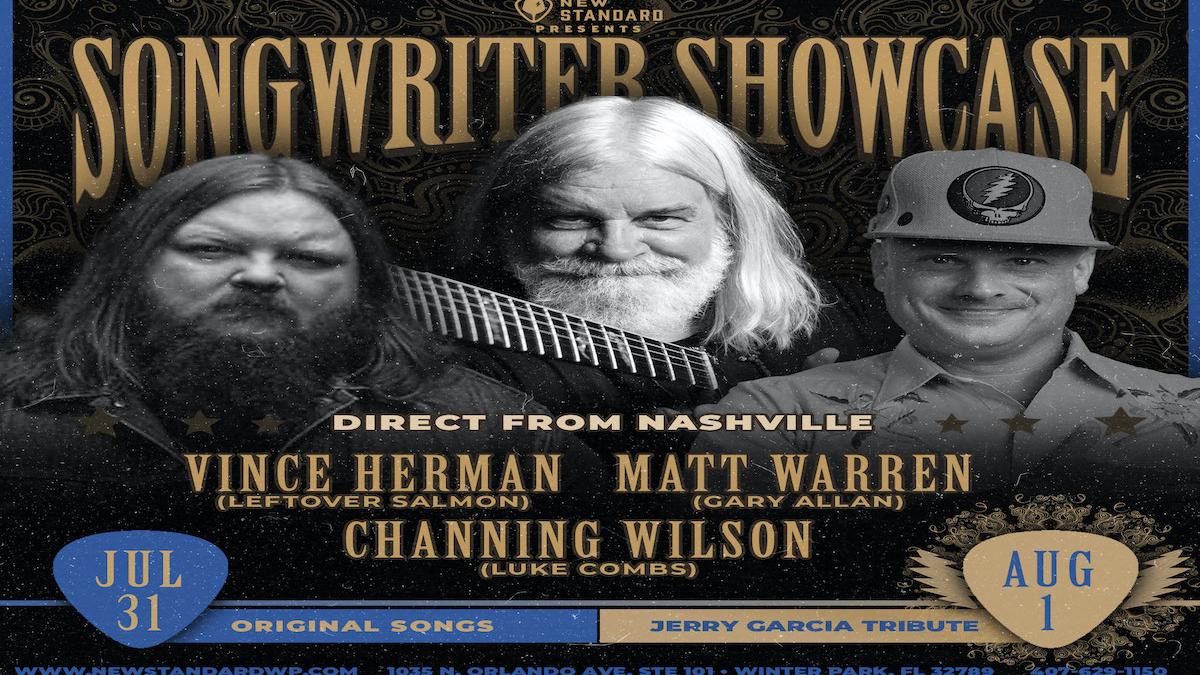 Photo for Songwriter Showcase w/ Vince Herman, Matt Warren, and Channing Wilson on ViewStub