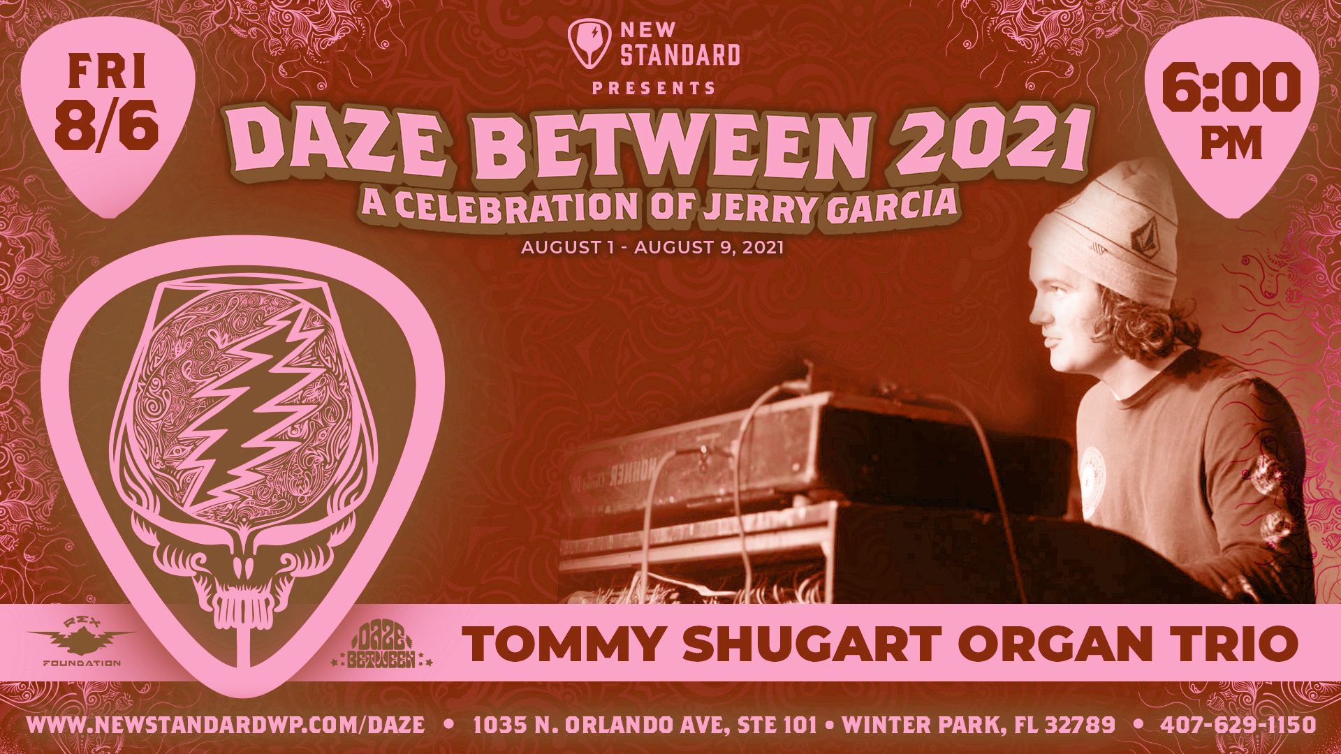Photo for Tommy Shugart Organ Trio - Live at The New Standard - Daze Between 2021 on ViewStub