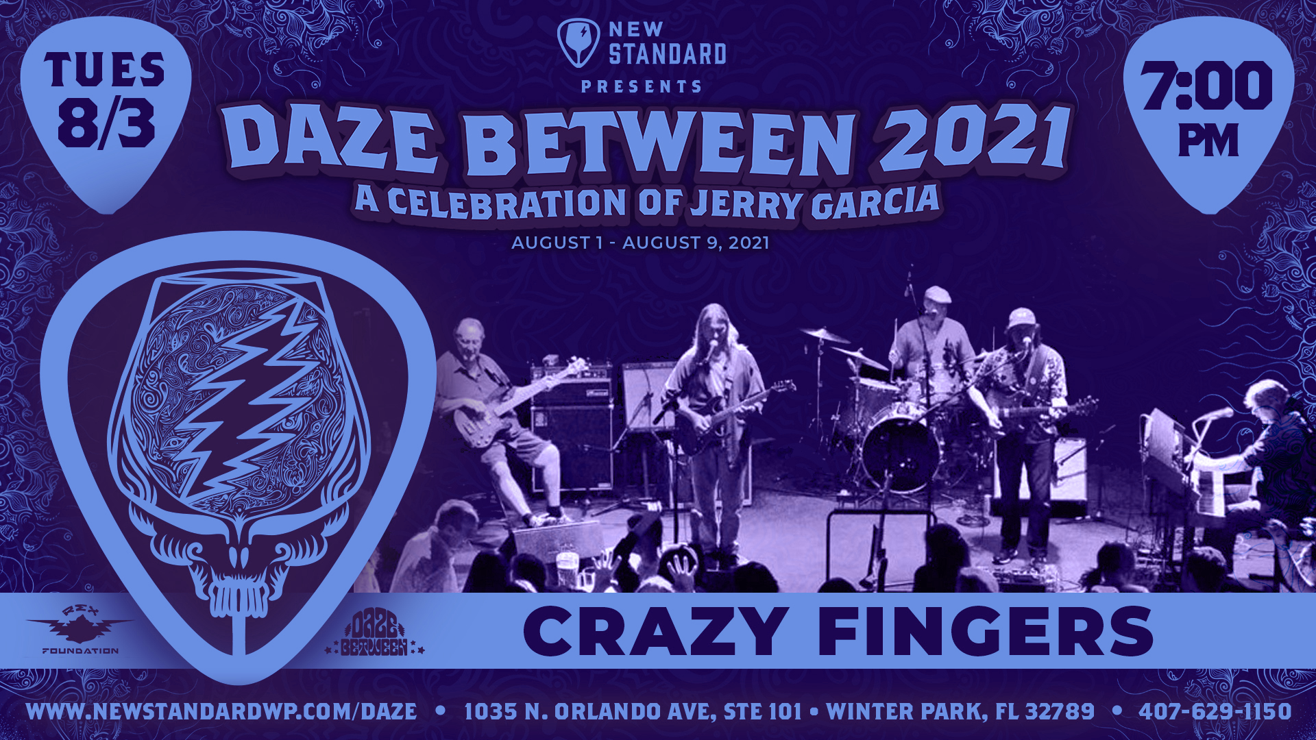 Photo for Crazy Fingers - Live at The New Standard - Daze Between 2021 on ViewStub