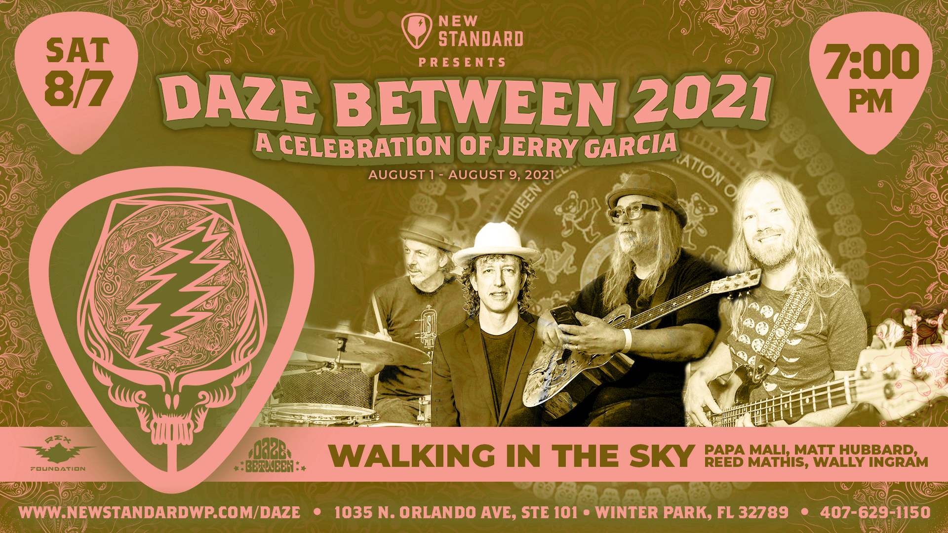 Photo for Walking In The Sky - Papa Mali, Matt Hubbard, Reed Mathis, & Wally Ingram - Daze Between 2021 - 8/7 on ViewStub