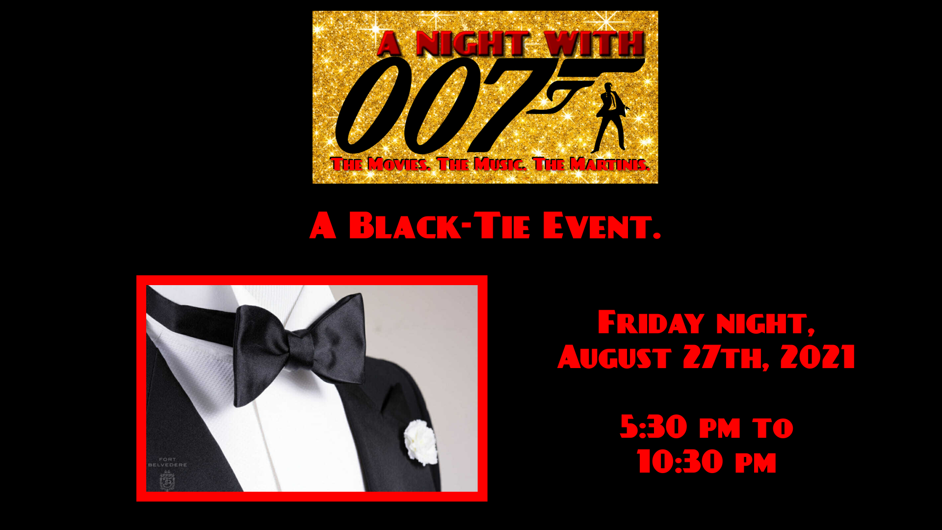Photo for A Night with 007 on ViewStub